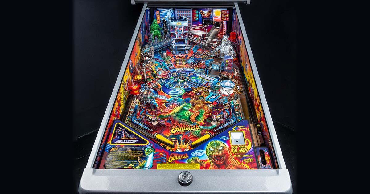 The King of the Monsters Arrives!  Toho International, Inc. and Stern Pinball Announce  New Godzilla Pinball Machines image
