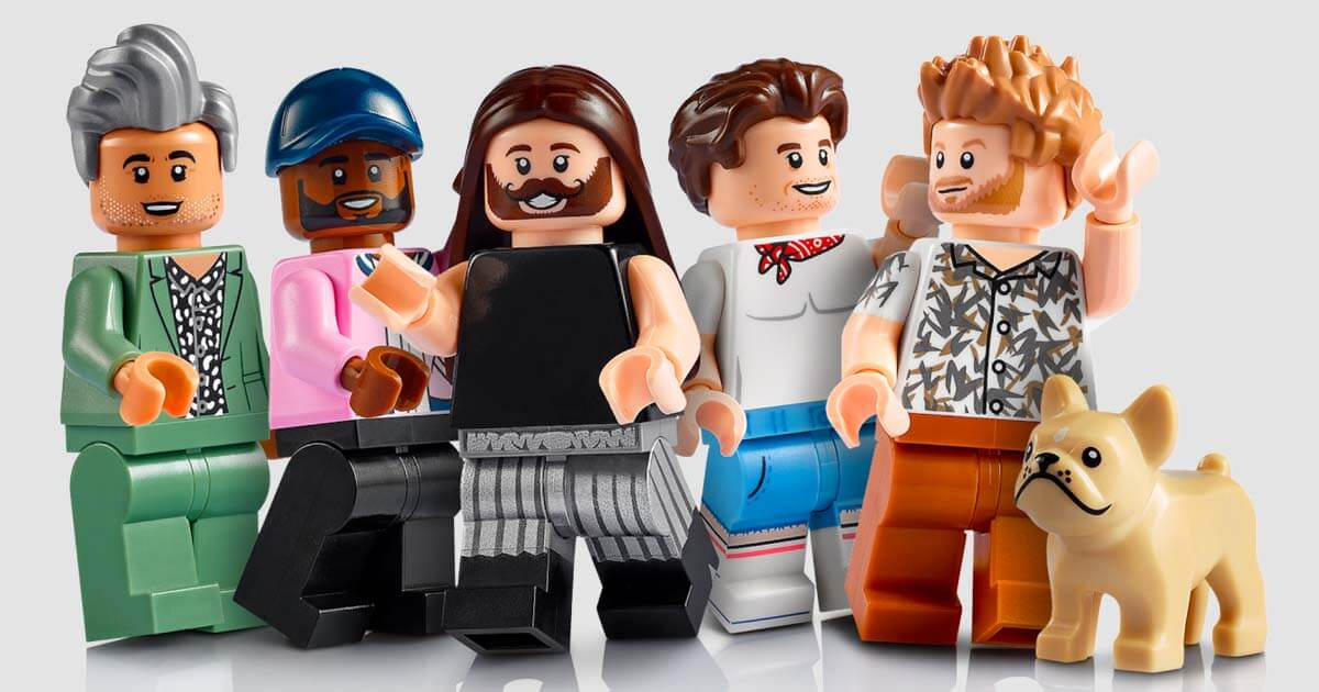 The LEGO Group and Queer Eye Reveal Fabulous Set to Celebrate Creative Expression and Promote Positivity image