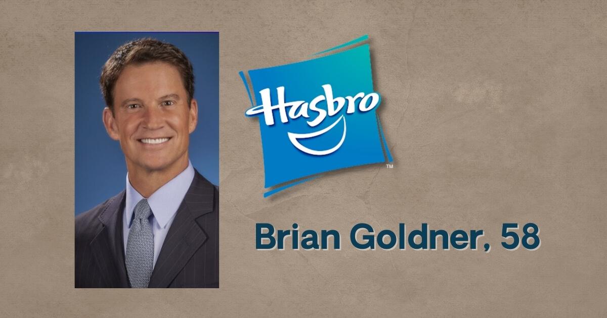 Hasbro Chmn.-CEO Brian Goldner Passes Away at Age 58 image