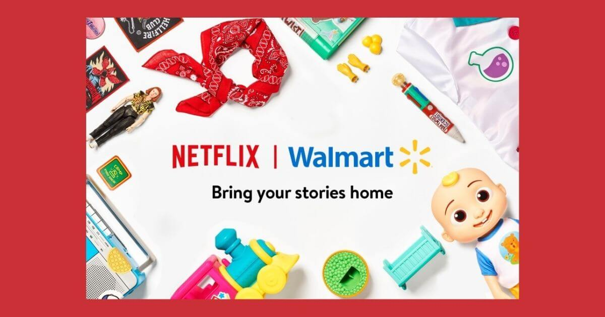 Netflix-Walmart Pact is a Marketing Match image
